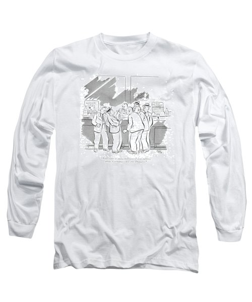 Now Take It Easy Long Sleeve T-Shirt