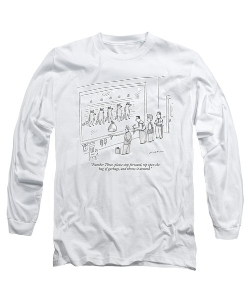 Number Three Long Sleeve T-Shirt