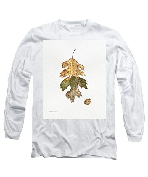 Long Sleeve T-Shirt featuring the painting Oak Study by Michele Myers