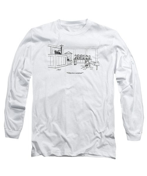 Objection Sustained Long Sleeve T-Shirt