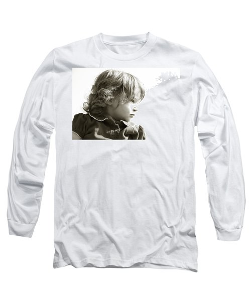 Observations Of A Child Long Sleeve T-Shirt by Charles Beeler