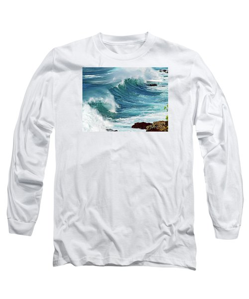 Ocean Majesty Long Sleeve T-Shirt by Patricia Griffin Brett