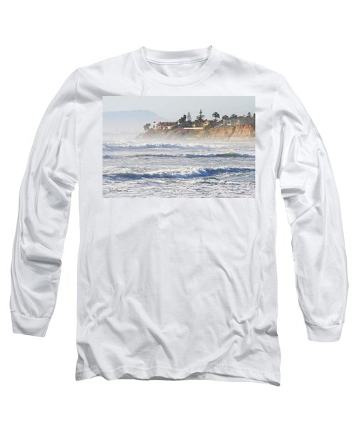 Long Sleeve T-Shirt featuring the photograph Oceanside California by Tom Janca