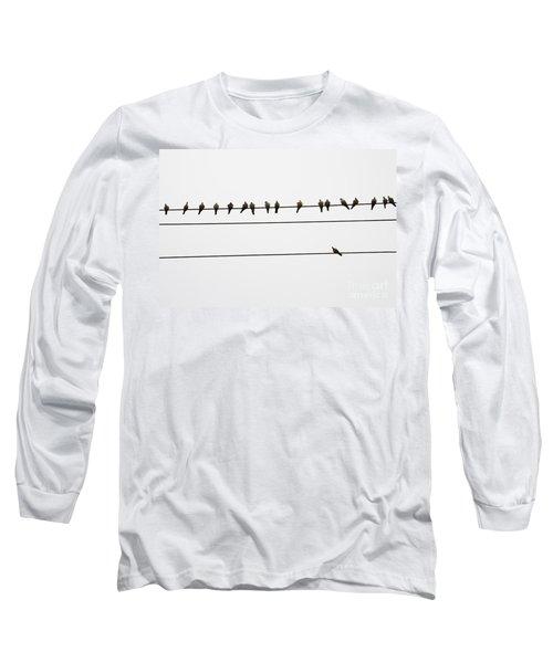 Odd Man Out Long Sleeve T-Shirt
