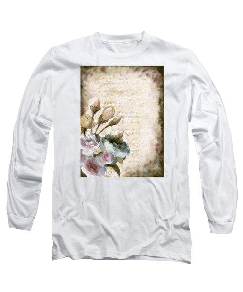 Ode To Love Long Sleeve T-Shirt by Enzie Shahmiri