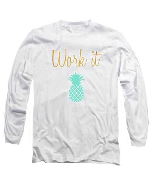 Office Pop II Long Sleeve T-Shirt