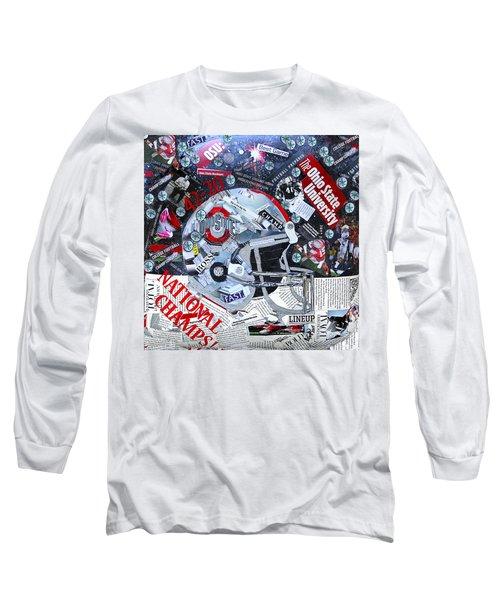 Ohio State University National Football Champs Long Sleeve T-Shirt