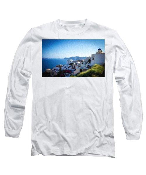 Oia Santorini Grk4332 Long Sleeve T-Shirt