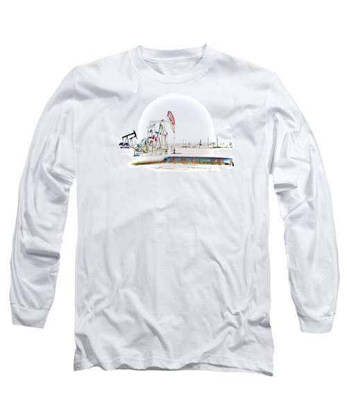 Oil Field Long Sleeve T-Shirt