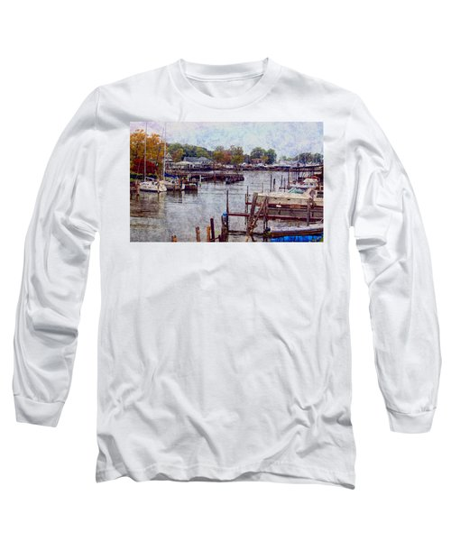 Long Sleeve T-Shirt featuring the photograph Olcott by Tammy Espino