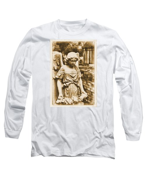 Blessed Angel   Long Sleeve T-Shirt by Nadalyn Larsen