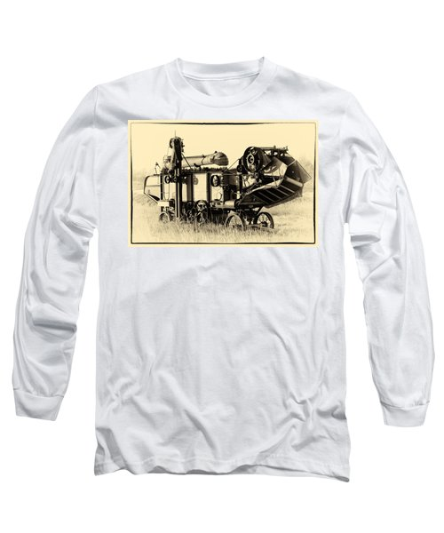 Old Case Thresher Long Sleeve T-Shirt by Bill Kesler