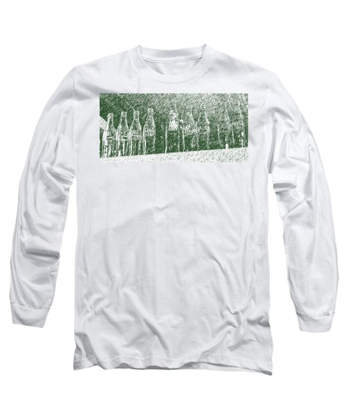 Long Sleeve T-Shirt featuring the photograph Old Coke Bottles by Greg Reed
