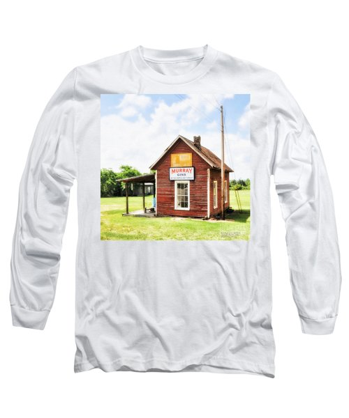 Old Country Cotton Gin Store -  South Carolina - I Long Sleeve T-Shirt by David Perry Lawrence