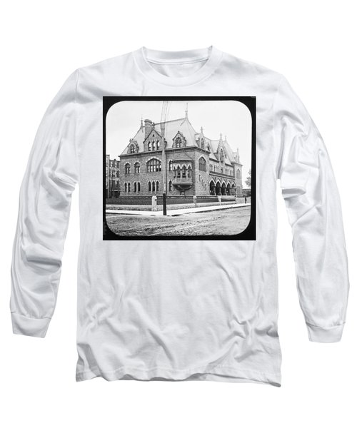 Old Customs House And Post Office Evansville Indiana 1915 Long Sleeve T-Shirt