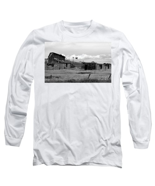 Old Fort Long Sleeve T-Shirt by Steven Reed