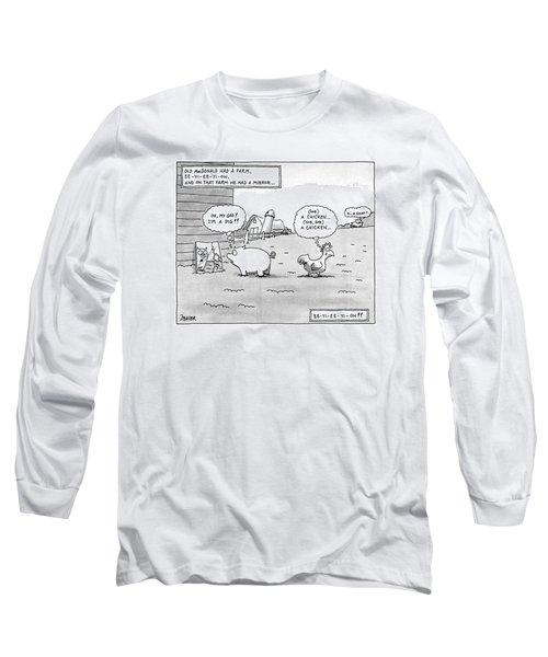 Old Macdonald Had A Farm Long Sleeve T-Shirt