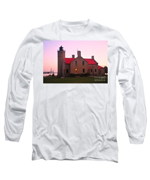 Long Sleeve T-Shirt featuring the photograph Old Mackinac Point Lighthouse by Terri Gostola