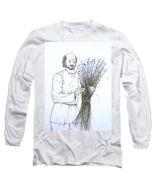 Old Man And Flax Long Sleeve T-Shirt