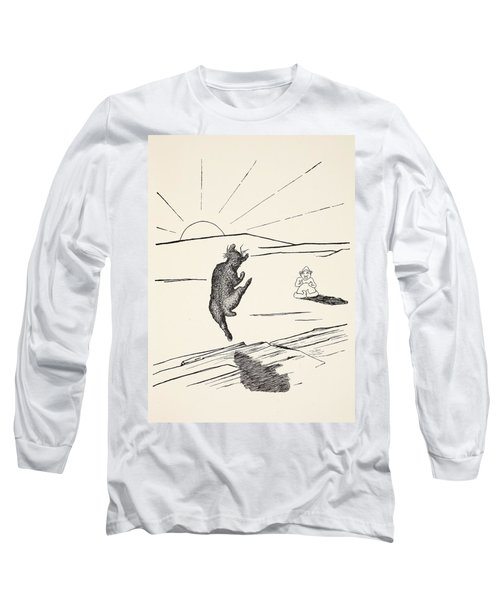 Old Man Kangaroo Long Sleeve T-Shirt