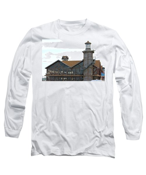 Old Restaurant                 Long Sleeve T-Shirt by Lorna Maza