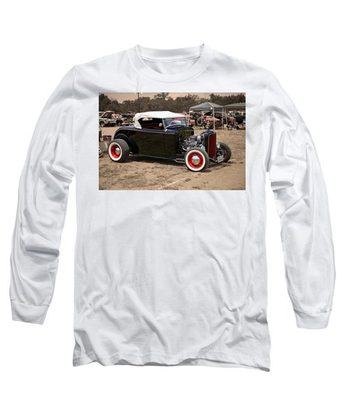 Old School Hot Rod Long Sleeve T-Shirt