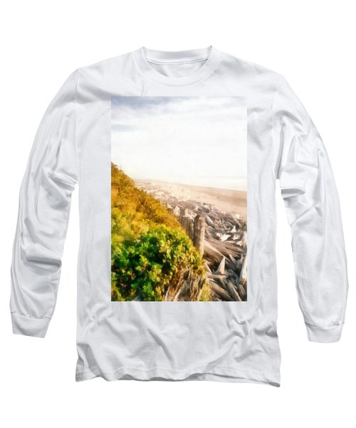 Olympic Peninsula Driftwood Long Sleeve T-Shirt