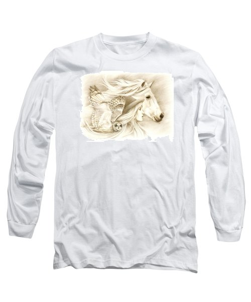 On A Journey... Long Sleeve T-Shirt