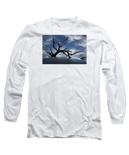 On A Misty Morning Long Sleeve T-Shirt