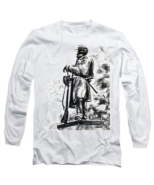 On Duty In Brigadoon  No Ch101 Long Sleeve T-Shirt