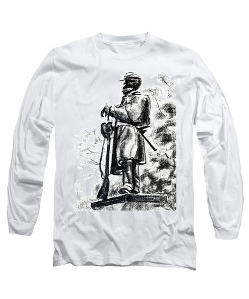 On Duty In Brigadoon  No Ch101 Long Sleeve T-Shirt