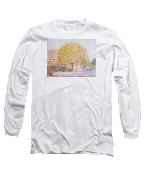 Leland Avenue In Chicago Long Sleeve T-Shirt