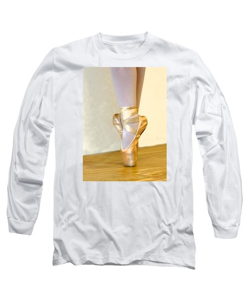 Ballet Toes On Point Long Sleeve T-Shirt