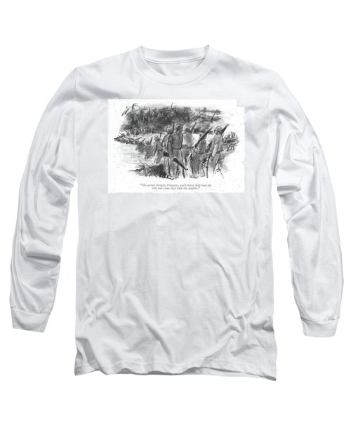 On Second Thought Long Sleeve T-Shirt