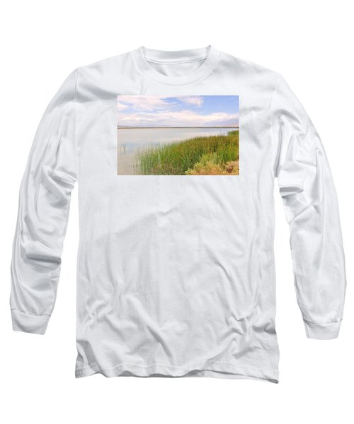Long Sleeve T-Shirt featuring the photograph On Shore by Marilyn Diaz