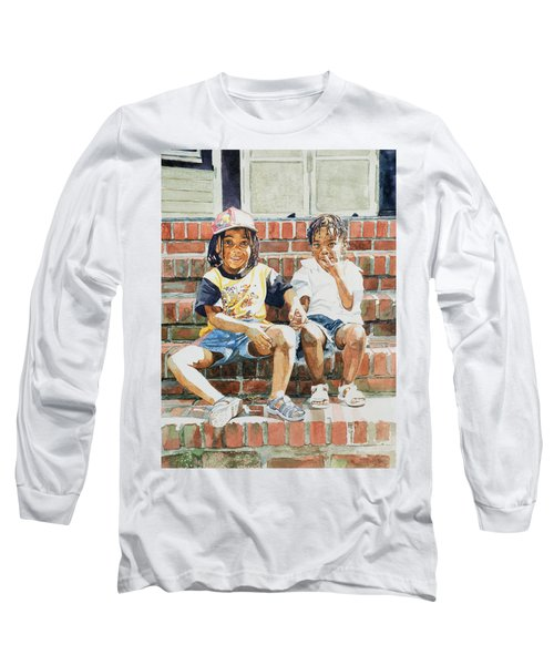 On The Front Step Long Sleeve T-Shirt
