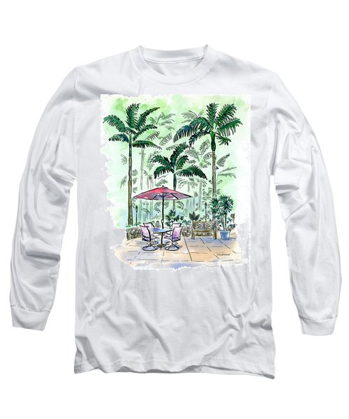 On The Lanai Long Sleeve T-Shirt