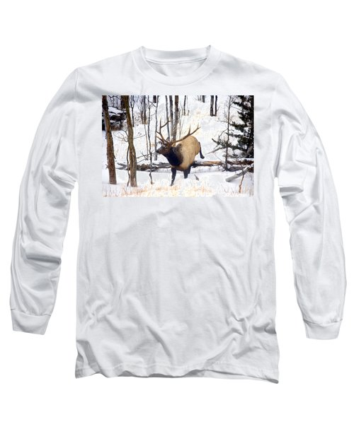 On The Move Long Sleeve T-Shirt by Mike  Dawson