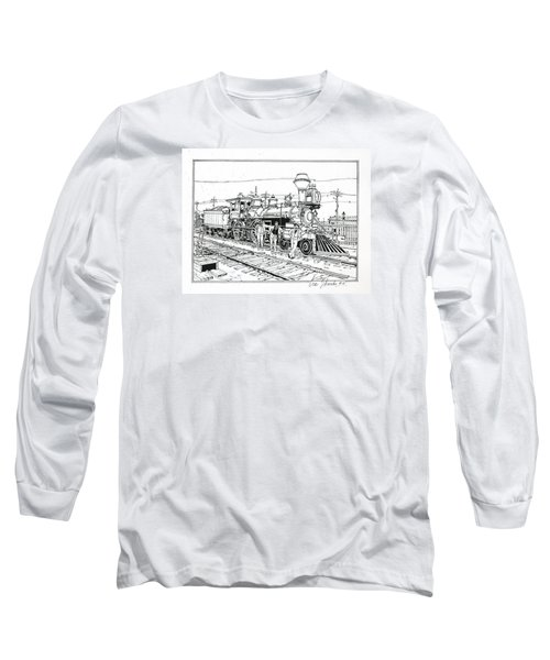 On The Old Pennsy Long Sleeve T-Shirt by Ira Shander