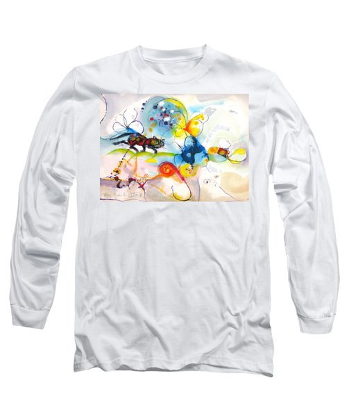 On The Prowl Long Sleeve T-Shirt by Mary Armstrong