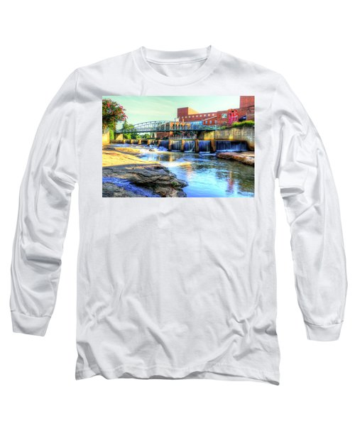 On The Reedy River In Greenville Long Sleeve T-Shirt