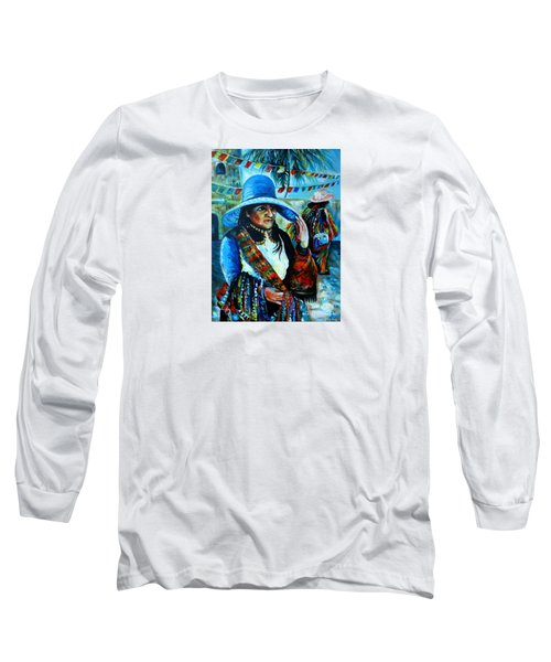 On The Streets Of Bucerias. Part Two Long Sleeve T-Shirt