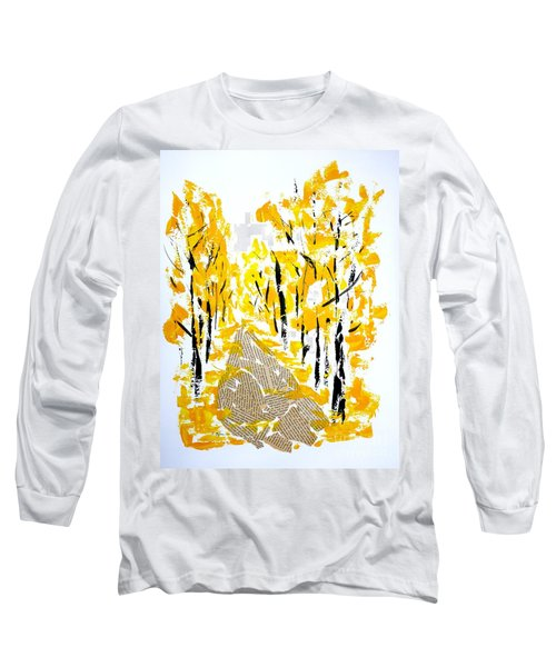 On The Way To School Long Sleeve T-Shirt