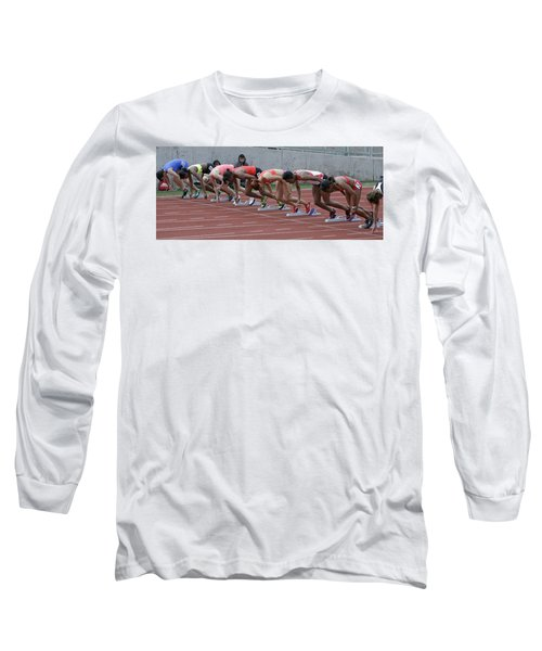 On Your Marks Long Sleeve T-Shirt