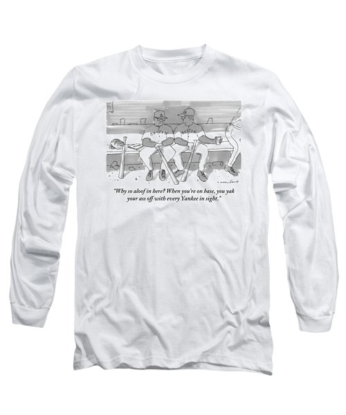 One Boston Red Sox Player Addresses Another Long Sleeve T-Shirt