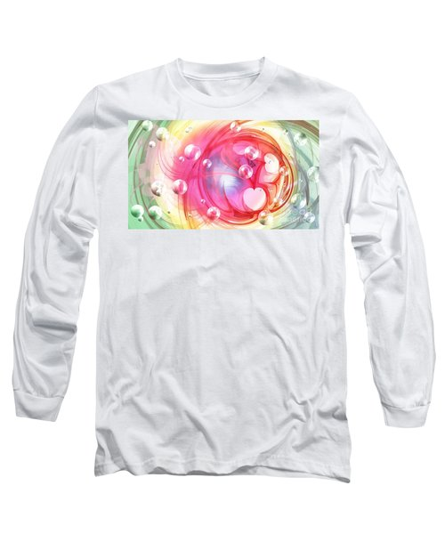 One Love... One Heart... One Life Long Sleeve T-Shirt by Peggy Hughes