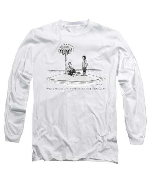 One Stranded Castaway To Another Long Sleeve T-Shirt