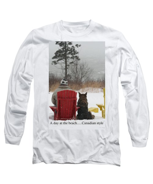 Only In Canada Long Sleeve T-Shirt