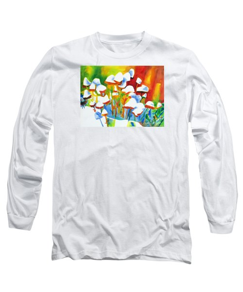 Opposites Attract Long Sleeve T-Shirt by Kathy Braud
