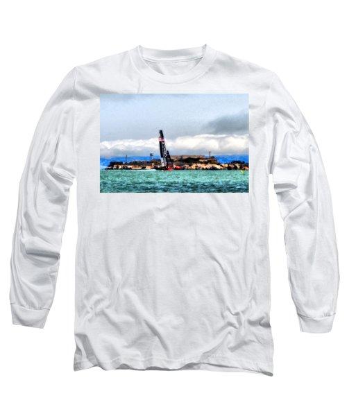 Oracle Team Usa And Alcatraz Long Sleeve T-Shirt